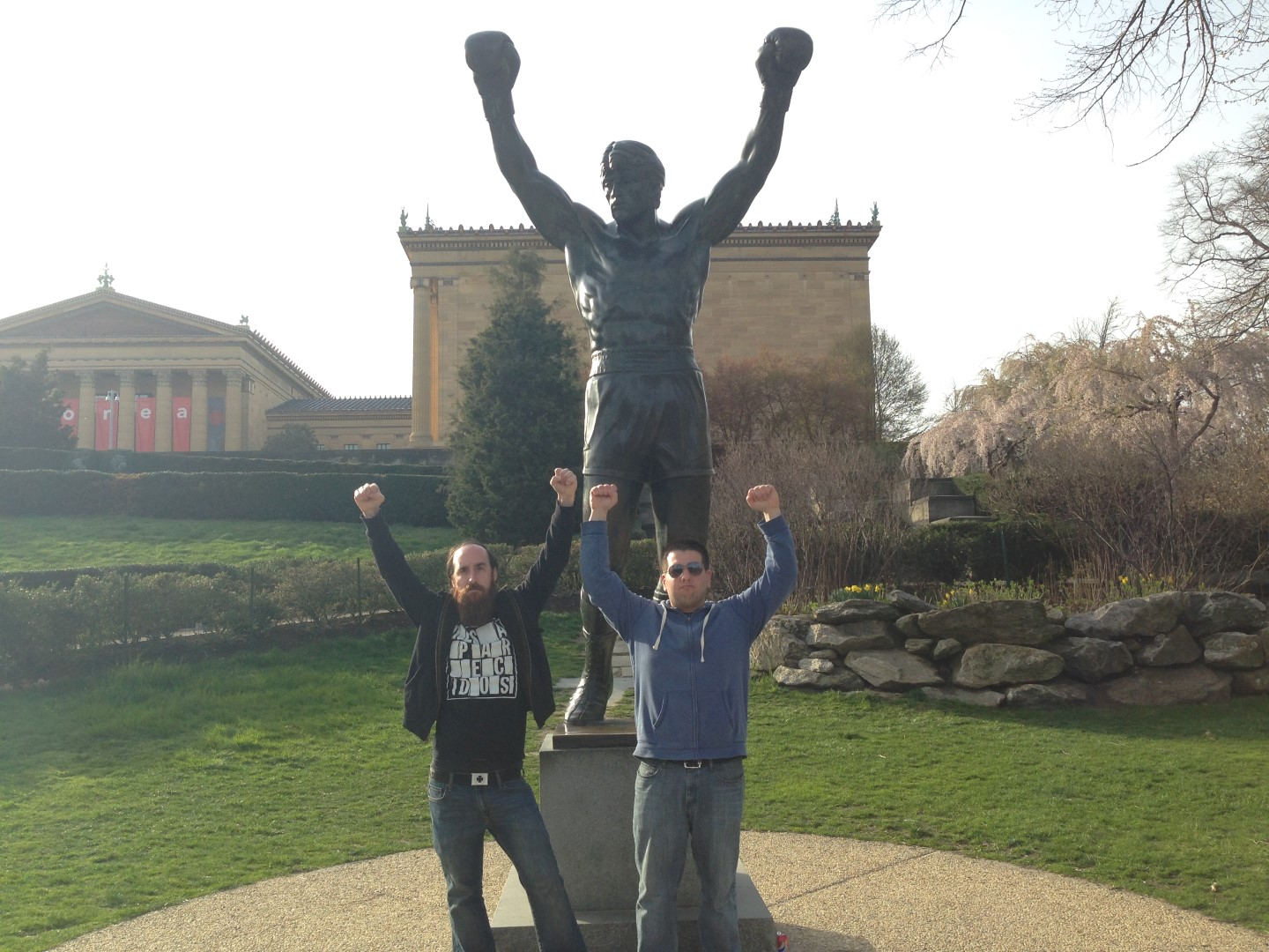 2014 Road Trip – The Rocky Steps