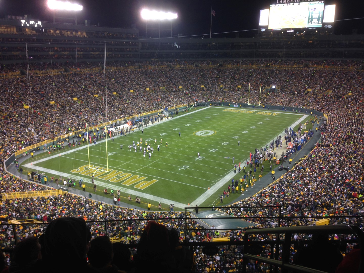Packers vs. Bears @ Lambeau – Nov 10, 2014