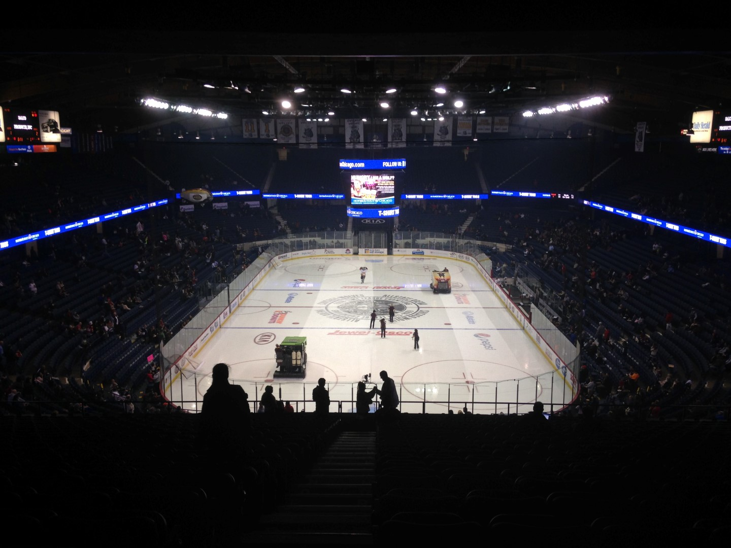 Wolves vs Admirals @ Allstate Arena