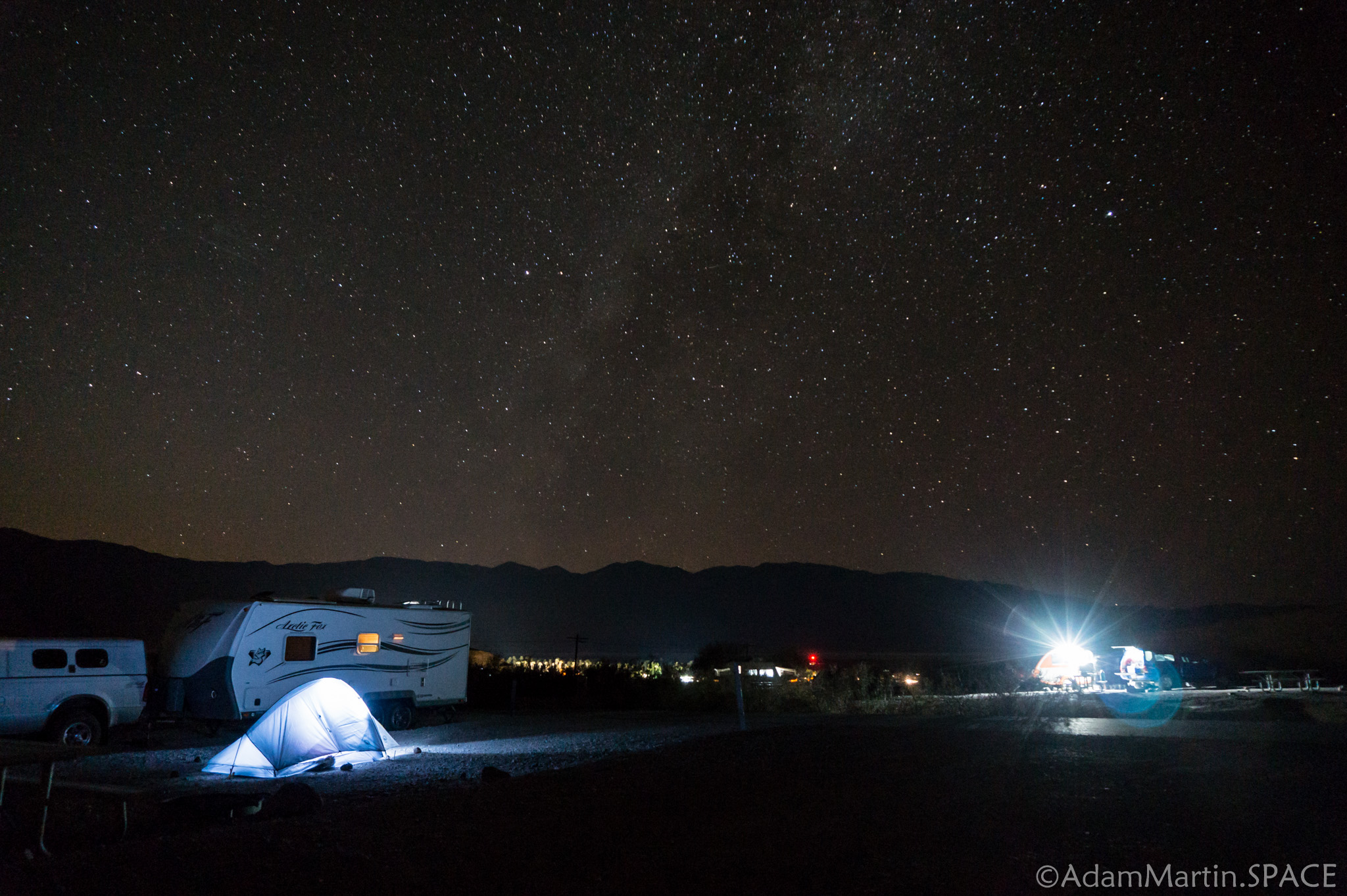 Death Valley – Texas Springs Campground