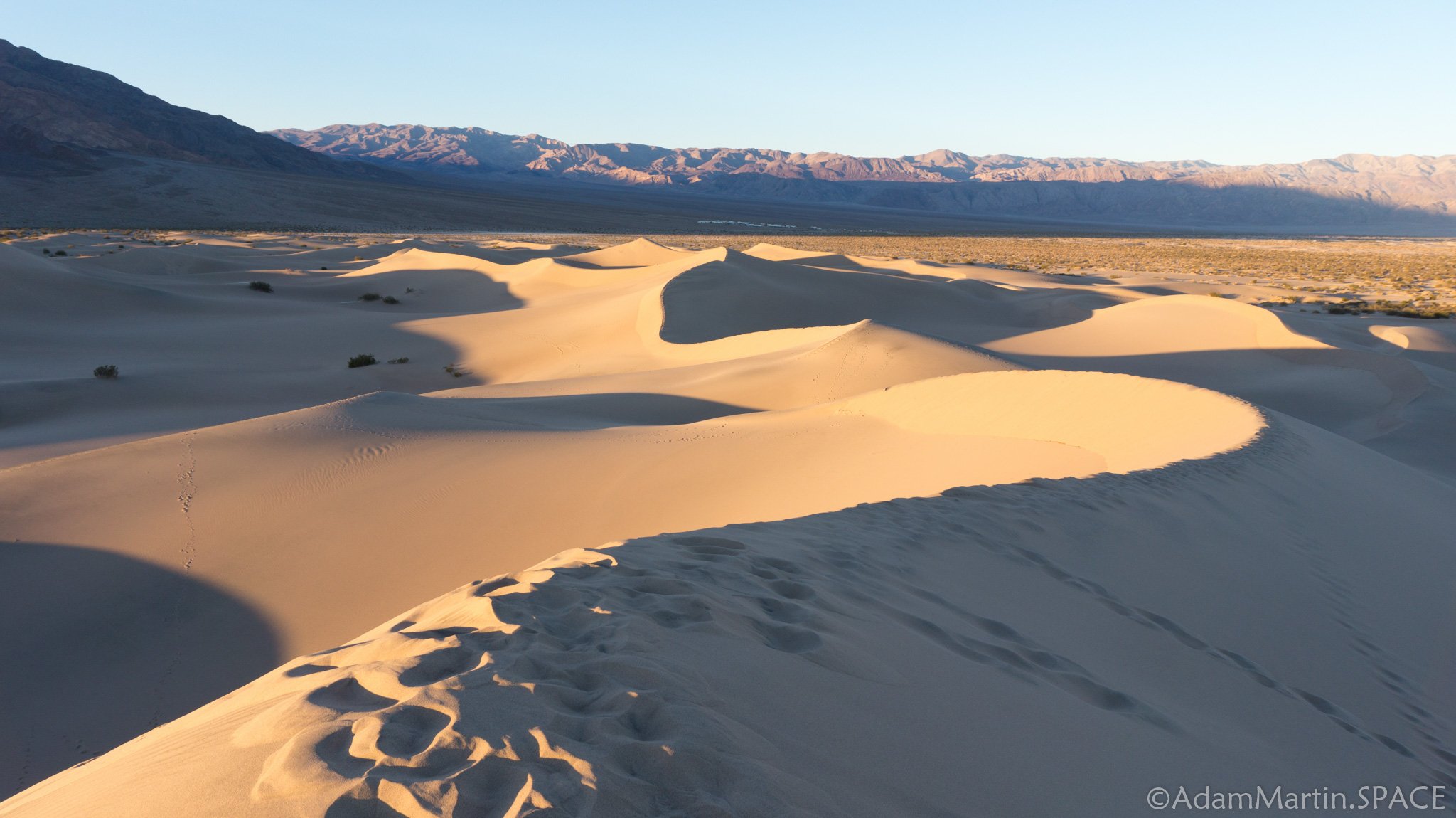 Death Valley – Mesquite Flat Sand Dunes