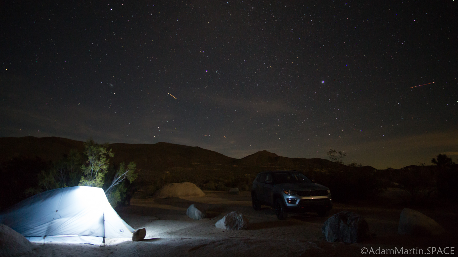 Joshua Tree – Belle Campground Astrophotography