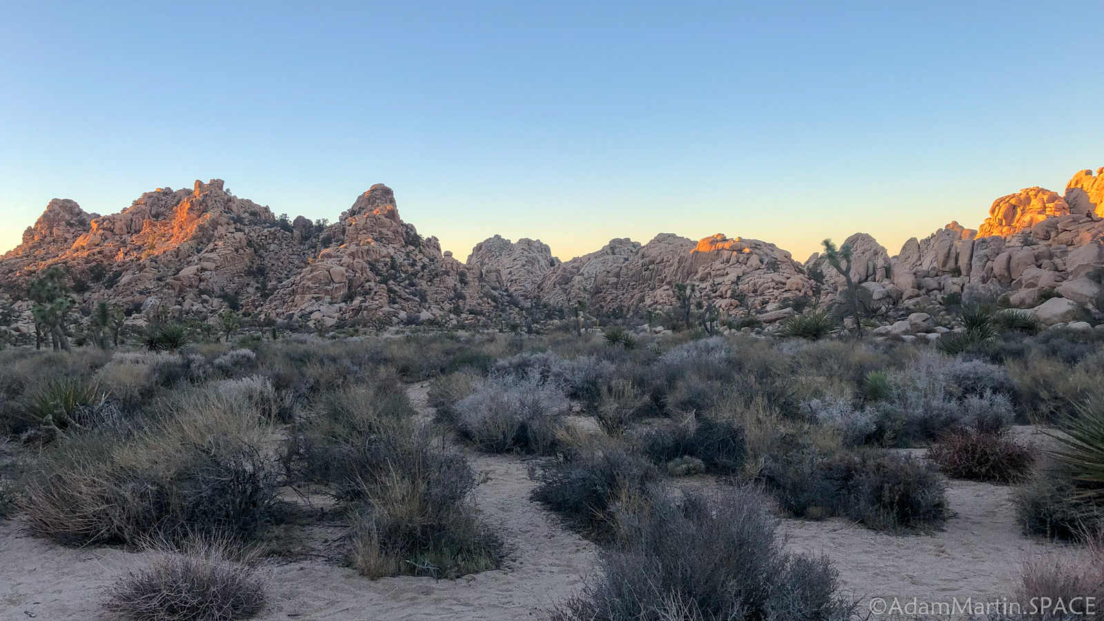 Joshua Tree – Hidden Valley