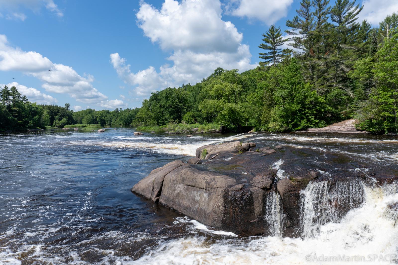 Big Eddy Falls