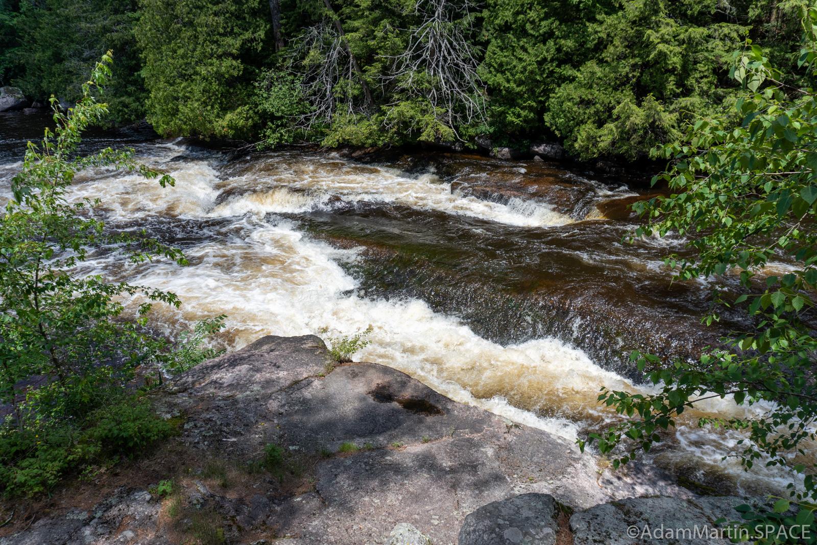Wolf River Dalles & Tea Kettle Rapids