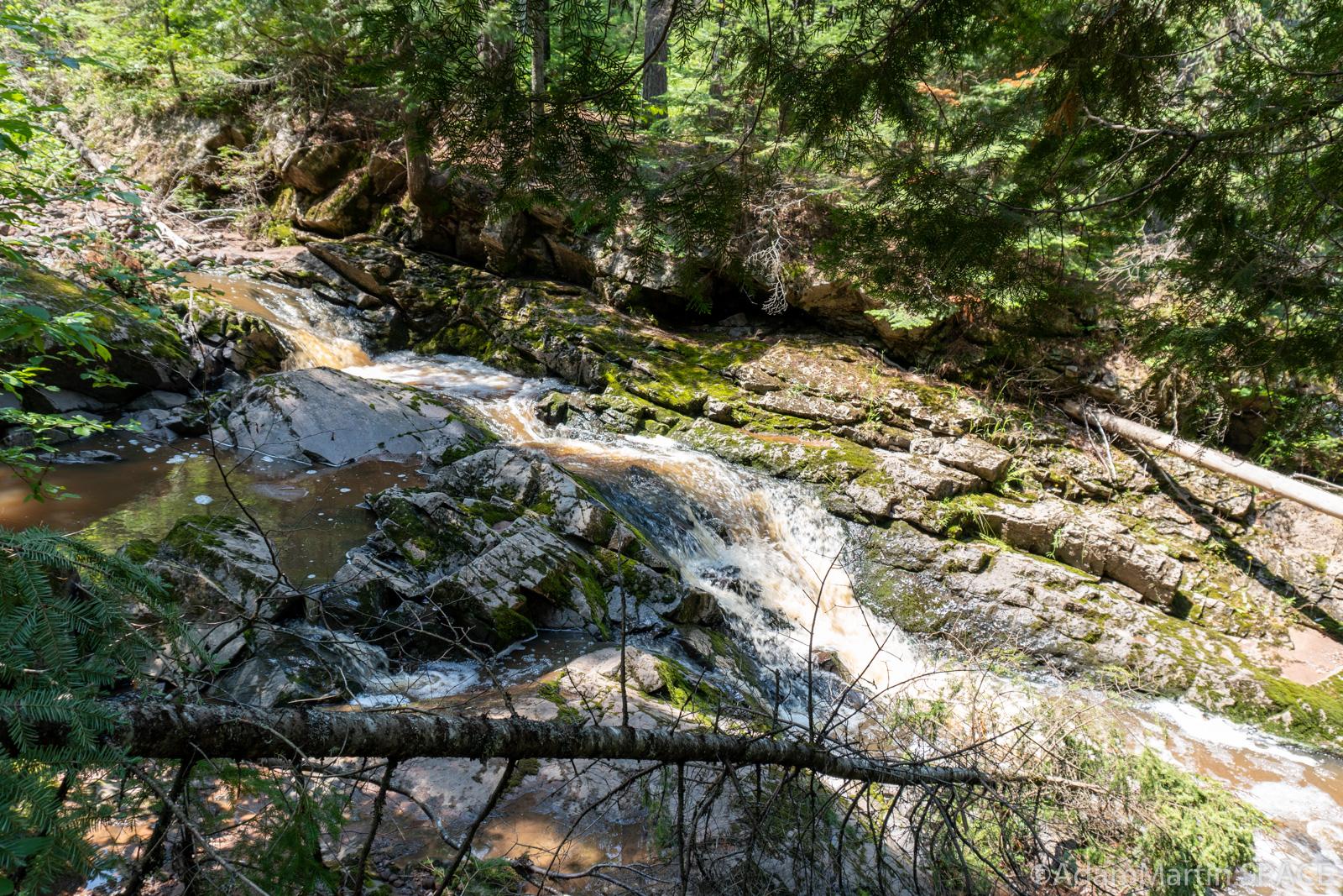 Pattison State Park – Copper Creek Falls
